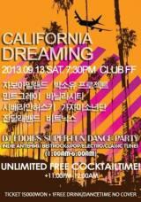 [SCHEDULE] 'CALIFORNIA DREAMING' AT FFCLUB